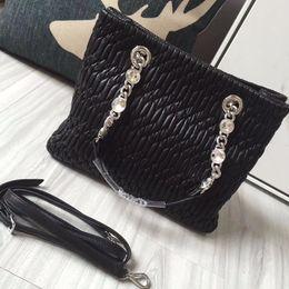 Wholesale Hot News Women - 2017 News Backpacks For Girls Or Women Design Genuine Leather Crossbody Chain Shoulder Bagpack Original Fashion Hot Free shipping