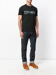 Wholesale Cotton Mesh Shirts - C&S High-quality 2016 NEW fashion Euro size Mesh Cover balr dsq t shirt men&women NL luxury clothing round bottom long back t-shirt