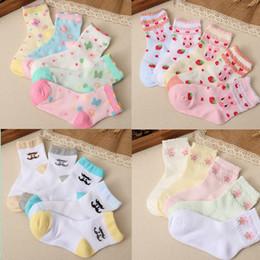 Wholesale Thin Cotton Socks For Kids - 2016 New Baby Girls Cotton Thin Socks Children Socks Christmas Gifts For Children Ankle Sock Kids Socks