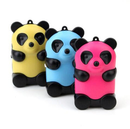 Wholesale Usb Flash Drive Cute - 5pcs lot Portable MP3 Player TF Card Slot Electronic Products Colorful Cute Bear MP3 Music (MP3 only)Can Use a USB Flash Drive