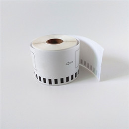 Wholesale Dk Labels - 50 x Rolls Brother DK 22205 2205 Compatible thermal labels 62mm x 30.48m QL 570 580 700 720 1050 1060