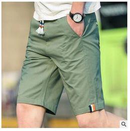 Wholesale Relaxing Canvas - 2017 New Arrival Mens Casual Shorts Pure Cotton Pantalones Cortos High Quality Drawstring Loose Men Shorts Free Shipping