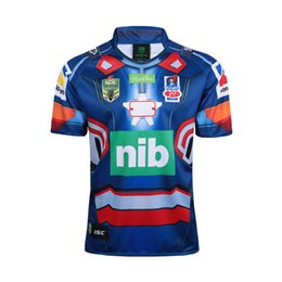 Wholesale iron man patriot - Free ship!NRL National Rugby League Newcastle Knights 2017 new High-temperature NEWCASTLE KNIGHTS 2017 MARVEL 'IRON PATRIOT' JERSEY