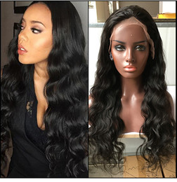Wholesale Glueless Human Hair - Brazilian Hair Wigs For Black Women Cheap Glueless Full Lace Wig Natural Hairline Lace Front Human Hair Wigs With Baby Hair