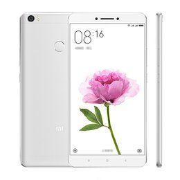 "Wholesale Wireless Micro Camera Android - Original Xiaomi Mi Max Pro 4G LTE Mobile Phone Snapdragon 650 Hexa Core 2GB RAM 16GB ROM MIUI 7 6.44"" 2.5D Glass 16MP Fingerprint Cell Phone"