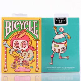 Wholesale Custom Decking - Wholesale- Bicycle Brosmind Deck USPCC Playing Cards Poker Size Custom Art Limited Edition Magic Tricks