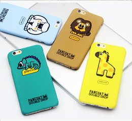 Wholesale Iphone Cartoon Cases Order - Mixed order Newest For for iPhone 6 6 plus case Scrub PC Hard case Cute Shark Lion squirrel Smart Eye cartoon phone cases cover for iPhone 6