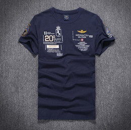 Wholesale Black Eagle Order - 2016 US Army causal men tees polos Eagle Air force men polo shirts round neck summer t shirts Men's Clothing mix order