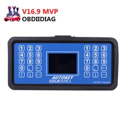 Wholesale Ecu Immo - V16.9 MVP Auto Key Programmer Unlock Version Read IMMO ECU Code Key Programmer Support English Spanish