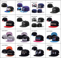 Wholesale Shipping Hats - new Hat Wholesale Snapbacks Ball Hats Fashion Street Headwear adjustable size Cayler & Sons custom football caps drop shipping top quality