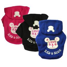 Wholesale Fleece Dog Vest - pet clothes dog hoodies winter warm clothes fleece dogs clothing