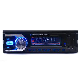 Wholesale Car Radio Bluetooth 1din - 1Din Car Radio MP3 Stereo Bluetooth Player With Remote Control AUX-IN Audio Player USB SD Port Car Electronics Autoradio