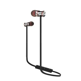 Wholesale-25m bis 30m High-End-Magnet Sport Bluetooth 4.1 Kopfhörer Wireless Bass Headset ISSC201 Chip Kostenloser Versand von Fabrikanten
