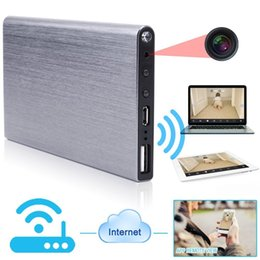 Wholesale Iphone Mini Power - 1920x1080P HD P2P Wifi Spy Camera Hidden Power Bank Video Recorder Mini DV Camcorder Support iPhone Android Smarphone APP Remote View