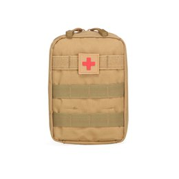 Wholesale Outdoor Medical Kits - Outdoor sports purse tactics medical first aid kit Army fan tactics pack Unexpected help Outdoor necessities