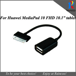 "Wholesale Mediapad Otg - Wholesale-for Huawei Mediapad FHD 10.1"" Tablet USB OTG Cable, Host OTG adapter for Huawei mediapad fhd 10.1"" tablet"
