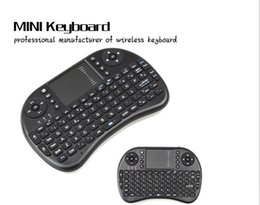 pc rii bluetooth Rebajas Mini teclado portátil Rii Mini i8 Teclados inalámbricos bluetooth juego Fly Air Mouse Multi-Media Control remoto Touchpad Handheld Android PC