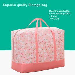 Wholesale Machine Washable Fabrics - Storage Bags Oxford cloth home finishing bag, machine washable, weight bearing 50KG, 4 sizes, 10 colors.