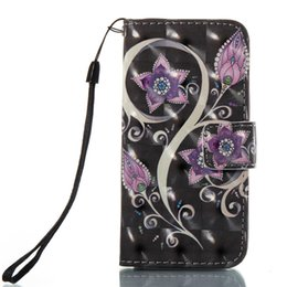 Wholesale Chinese Ropes - 3D For Samsung Galaxy J3 J5 J530 J7 J730 2017 LG LS775 STYLUS 2 3 LS777 huawei P10Lite 6C Case PU Leather Stand Wallet Rope Card Slots Cover