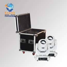 Wholesale Light Road Cases - Rasha China Stage Light Supplier 130W 2R Moving Head Beam Light With 2in1 Flight Road Case