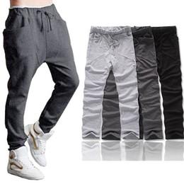 Wholesale Wholesale Hip Hop Sweat Pants - Wholesale-Sali New Fashion 1PC Men Boy Harem Baggy Hip Hop Sweat Pants Slacks Trousers Whale Hot Free Shipping&Wholesale
