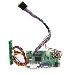 Wholesale Monitor Boards - Wholesale-(VGA+DVI) M.RT2261 LCD LED Controller Driver Board For LP173WD1 LTN173KT01 DS Monitor Reuse Laptop 1600x900