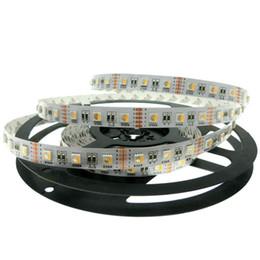 24v / 12V RGBW LED tira 5050 Luz LED flexible RGW / RGBWW 4 colores en 1 LED Chip 60 LED / m 5m / lot. desde fabricantes