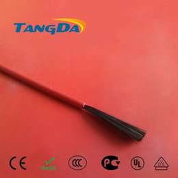 Wholesale Wholesale Electric Floor Heat - Wholesale-[TANGDA] 15 m New infrared heating floor heating cable system PTFE carbon fiber wire electric floor hotline