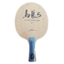 Wholesale Pingpong Blades - Wholesale- Hurricane Long Table Tennis Blade table tennis racket pingpong racket FL finished table tennis bats long handle shakehand racket