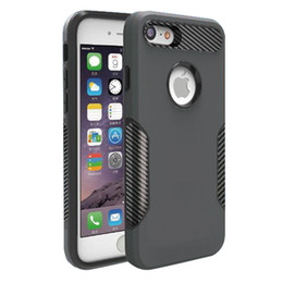 Wholesale Shock Proof Cases - For ZTE Blade Z Max Z982 Metropcs Hybrid TPU+PC 2 in 1 Armor Carbon Fiber Captain Case Shock-Proof Cases A