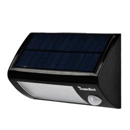 Wholesale Modern Solar Energy - Solar Power 28 LEDs Outdoor Waterproof Garden Pathway Stairs Lamp Light Motion Sensor Energy Saving Solar Wall Lamp Cool White