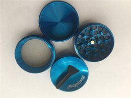 Wholesale Tobacco Grinders For Cheap - concave grinder 40mm 4pc SharpStone herb grinder smoking Dry herb Sharp Stone grinders metal colorful cheap tobacco grinder For smoking
