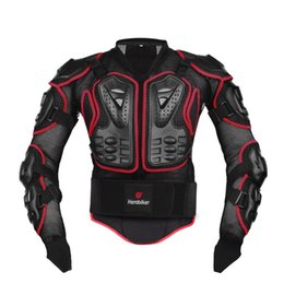 Wholesale Motorcycle Spine - 2016 New Professional Motorcycle Riding Body Protection Motocross Full Body Armor Spine Chest Protective Jacket Gear Guards 2 color