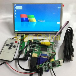 """Wholesale Tft Lcd Touch Controller - Wholesale-7"""" 1024*600 AT070TNA2 LCD Module Monitor Display + Touch Panel w  USB Controller + HDMI VGA 2AV Board for Raspberry Pi"""