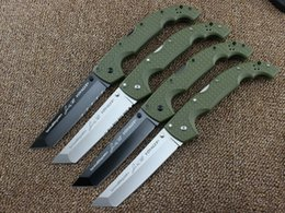 Wholesale Knife Survival Tools - 10 Types Newest Cold Steel Knives XL-SIZE VOYAGER Series Big Folding Knife Utility Survival Knifes Hunting Tactical Outdoor Camping Tool