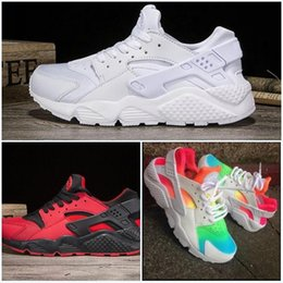 Wholesale Canvas Shoes Size 12 Women - Mens Air Huarache Running Shoes For Men & Women Sneakers Sport Huaraches Ultra Shoes Trainers Boost Size US 5.5-12