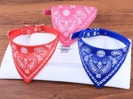 Wholesale Spring Color Scarves - Hot Sell Medium Many Colors Adjustable Pet Dog Cat Bandana Collar Scarf NVIE Pet supplies free shipping