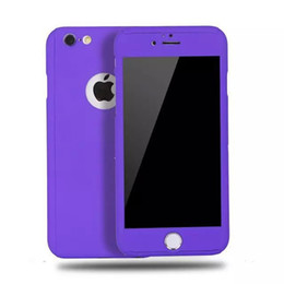 Wholesale Iphone Body Price - For iPhone6 360 Degree Hard PC Case Full Body Cases Without Tempered Glass For iPhone 5S 6 6S Plus Factory Price