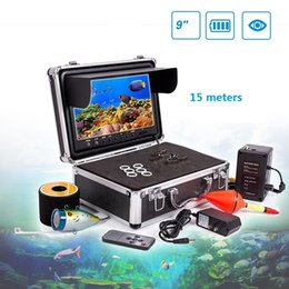Wholesale Underwater Monitoring - 15M without HD 9 inch screen underwater monitoring fish detector for fishing device