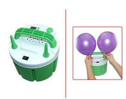 Wholesale Electric Air Pump Balloons - 900w fresh air Electric balloon pump with timer, air inflator pump CE certificate with 2 nozzels