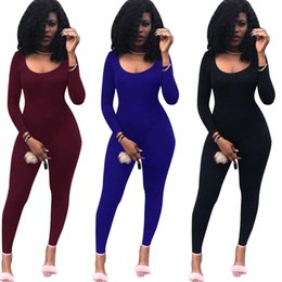 Wholesale Women Leotard Club - K8338 New African Tribal Nairobi Afrique Print Long Sleeve Stretch Leotard Skinny Jumpsuits for Women Sexy Club Wear Bodysuit Overalls