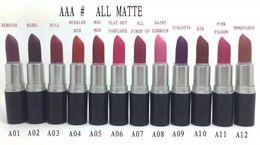 Argentina 24 UNIDS ENVÍO LIBRE La mejor venta más vendida NUEVA Maquillaje 24 colores La barra de labios mate tiene nombre y número en inglés regalo Suministro