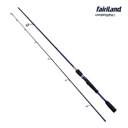 Wholesale Blue Lures - Fairiland Portable high carbon fiber spinning rod 1.98m 2.1m carbon lure fishing rod bass fishing pole high quality lure fishing accessory