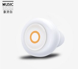 Wholesale Buy Phone Bluetooth - bulk buy price Car V6 Mini bluetooth headphones Fashion Light Design Connect to 2 Phones with Noise Cancelling+Phone Call Answering
