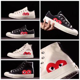 Envío gratis zapatillas originales online-[Original Box] 2017 Zapatos Originales Para Hombres Mujeres Running Zapatillas Low High Top Skate Big Eye Moda Casual Envío gratis