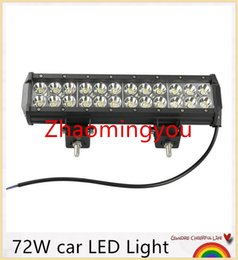 Wholesale 12 Inch Light Bar Truck - 12 inch 7200LM 72W CREE LED Light Bar Truck Trailer 4x4 4WD SUV ATV Off Road Car 9-32v Work Working Lamp flood Spot combo Beam