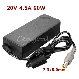 Wholesale Ibm Lenovo Thinkpad R61 - Newest Replacement AC Adapter 20V 4.5A 90W Power Supply Battery Charger for IBM For Lenovo for Thinkpad X61 T61 R61 92P 40Y