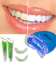 Wholesale White Light For Teeth - White Light Teeth Whitening Tooth Kit Gel Whitener Health Oral Mouth Care Toothpaste Kit For Personal Dental Cleaner