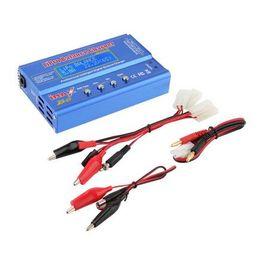 Wholesale Lipo Battery Balance Charger - 1Set Newest iMAX B6 Lipo NiMh Li-ion Ni-Cd RC Battery Balance Digital Charger Discharger