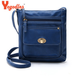 Wholesale Cell Phone Items - Wholesale-2016 Hot Item Women Handbag PU Leather messenger bag Splice grafting Vintage lady Shoulder Crossbody Bags bolsas femininas Bolsa